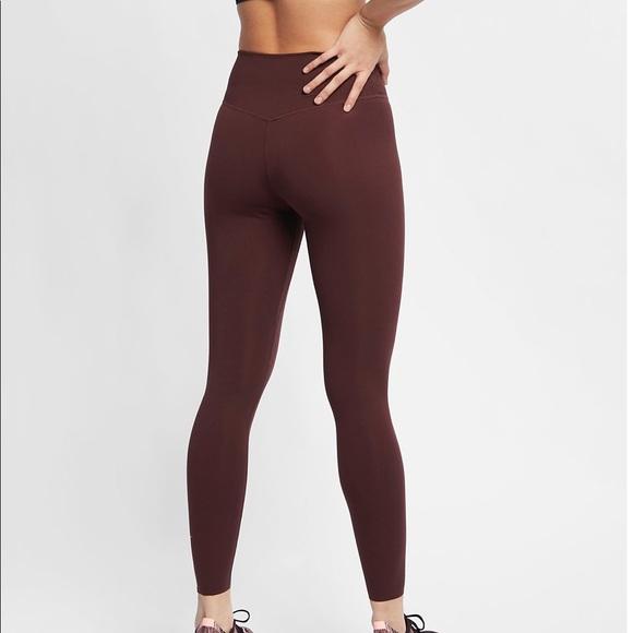 Del Norte Gran roble impresión  Nike Pants & Jumpsuits   Nike One Luxe 78 Tights El Dorado   Poshmark